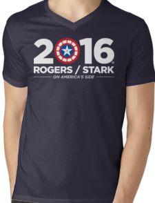 Rogers / Stark 2016 Mens V-Neck T-Shirt