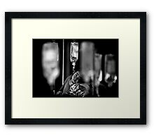 get well soon my dear Framed Print