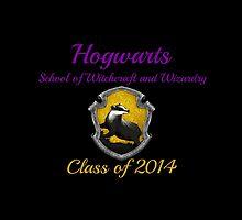 Hogwarts Hufflepuff Class of 2014 by etaworks