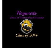 Hogwarts Hufflepuff Class of 2014 Photographic Print