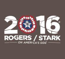 Rogers / Stark 2016: Broken Shield Edition Baby Tee