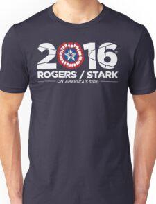 Rogers / Stark 2016: Broken Shield Edition Unisex T-Shirt