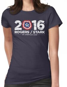 Rogers / Stark 2016: Broken Shield Edition Womens Fitted T-Shirt