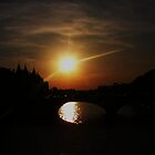SUNSET IN PARIS#2 by gracestout2007