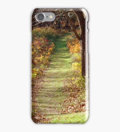 FOLLOWING THE BEATEN PATH iPhone Case/Skin