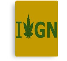 I Love GN Canvas Print