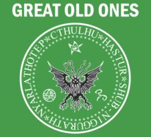 Seal of the Great Old Ones - White One Piece - Short Sleeve