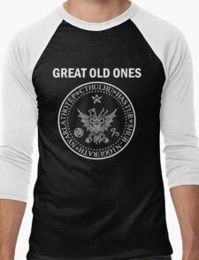 Seal of the Great Old Ones - White Men's Baseball ¾ T-Shirt