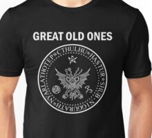 Seal of the Great Old Ones - White Unisex T-Shirt
