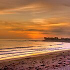 Ventura Beach by Cheryl  Lunde
