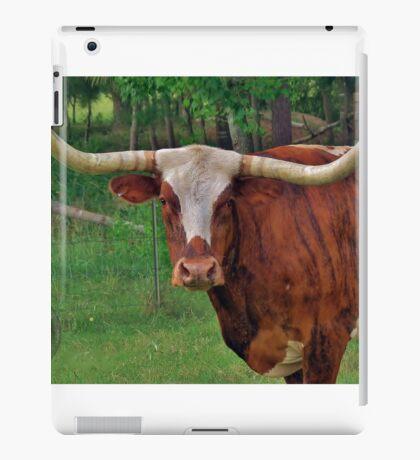 Long Horn iPad Case/Skin