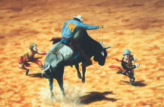 Rodeo Heroes by Cary McAulay