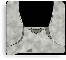 Batman Foo Fighters Canvas Print
