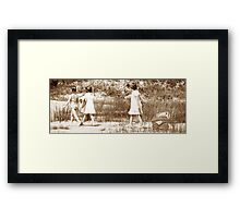 Child Play Framed Print