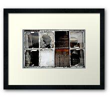 Deserted Crevice Framed Print