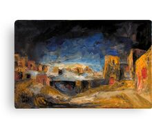 Egyptian Darkness Canvas Print