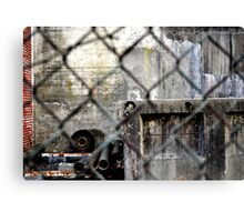 Rusted hardware Canvas Print