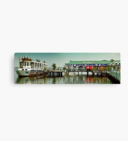 Floating Hanoi Restaurant Canvas Print