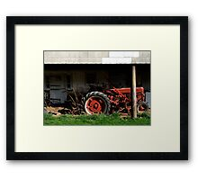Vintage equipment Framed Print