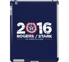 Rogers / Stark 2016: Broken Shield Edition iPad Case/Skin