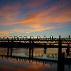 on my way to work - sunrise murray bridge by todski2