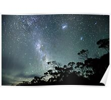 Milky Way from a very dark place Poster