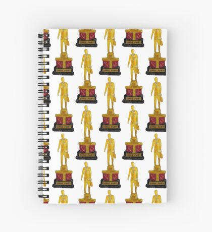 Dundies for Notebooks, Scarf and Hardcover Journals Spiral Notebook
