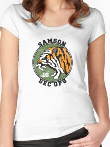 Samson 16 Women's Fitted Scoop T-Shirt