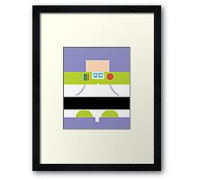 Buzz Lightyear Case Framed Print