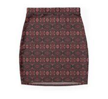 Burgundy Velvet Mini Skirt