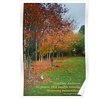 Autumn Rememberance Poster