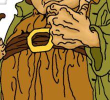 Old School Bilbo Baggins Sticker