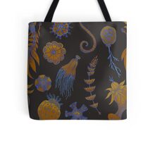 Sea Ballet in Psychedelic Colors, more apologies to Ernst Haeckel Tote Bag