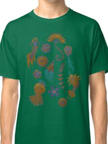 Sea Ballet in Psychedelic Colors, more apologies to Ernst Haeckel Classic T-Shirt