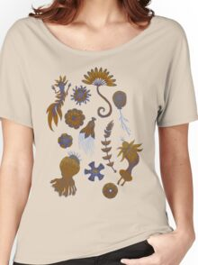 Sea Ballet in Psychedelic Colors, more apologies to Ernst Haeckel Women's Relaxed Fit T-Shirt