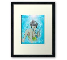 Elements - Harry Underwater Framed Print