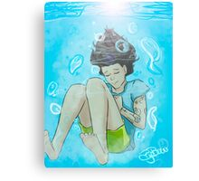 Elements - Harry Underwater Canvas Print
