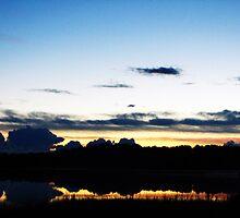 Bruce County Road Sunset 2 by torigoo