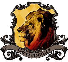 Gryffinpuff House Crest by SedatedArtist