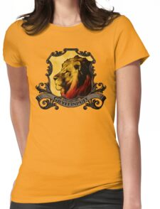 Gryffinpuff House Crest Womens Fitted T-Shirt