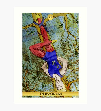 XII The Hanged Man Art Print
