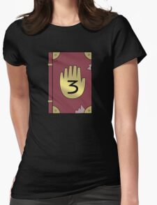 Gravity Falls // Journal 3 Womens Fitted T-Shirt