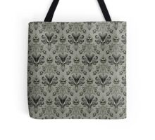 The Haunted Mansion Wallpaper Tote Bag