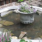 My Country Garden Frog Pond by JeffeeArt4u