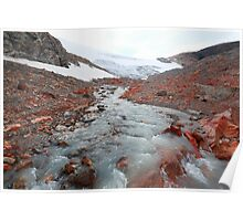 Glacier outflow Poster