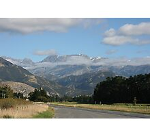 Heading South - South Island New Zealand Photographic Print