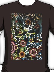 Kärlek Bar Psychedelic Print (Dark Version) T-Shirt