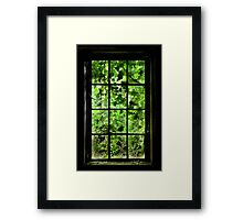 Different place Framed Print