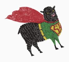 Superhero  Sheep Kids Tee