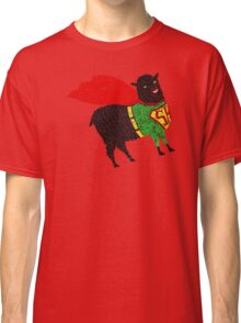 Superhero  Sheep Classic T-Shirt